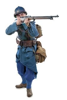 フランス兵1914年1918年絶縁