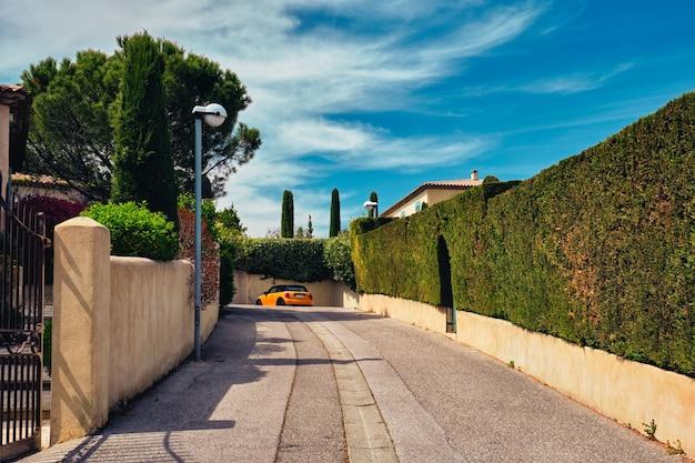 町のフレンチストリートaixenprovenceaixenprovenceフランス