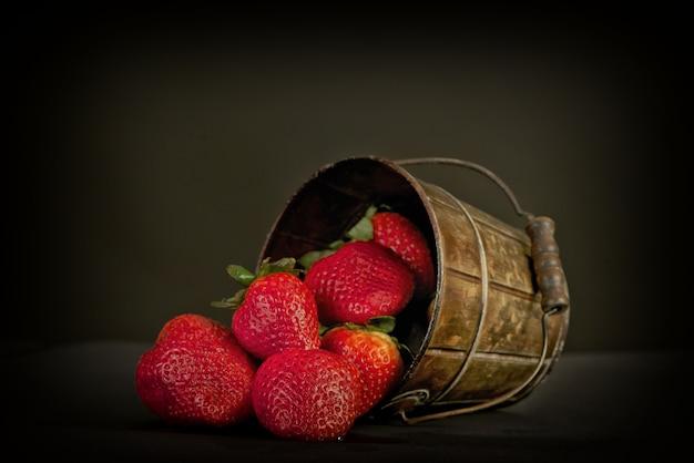 Fresa en pote