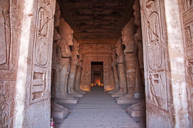 Фрески в храме абу-симбел египет