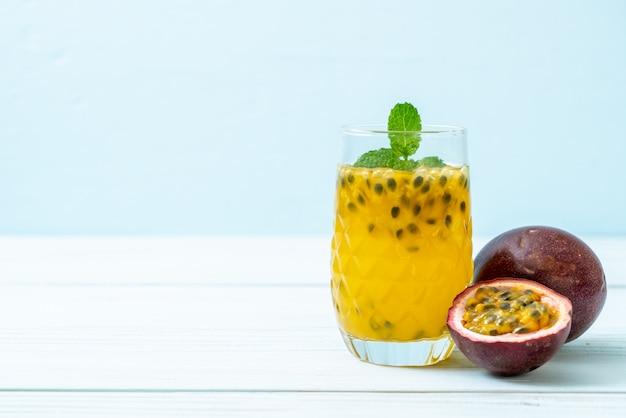 フレッシュでアイスなパッションフルーツジュース