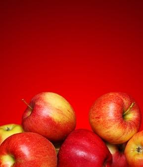 新鮮でおいしいリンゴ