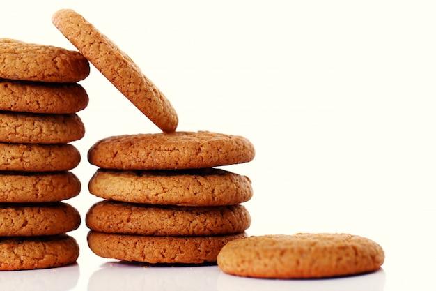 Свежие и вкусные овсяные печенья