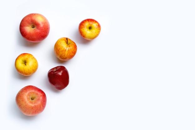 新鮮なリンゴ上面図