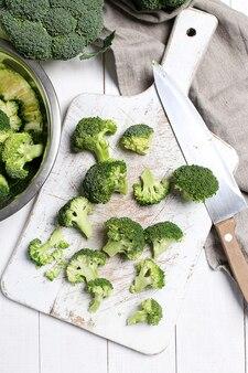 Свежие овощи брокколи