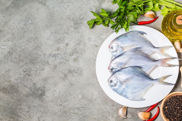 Fresh butterfish