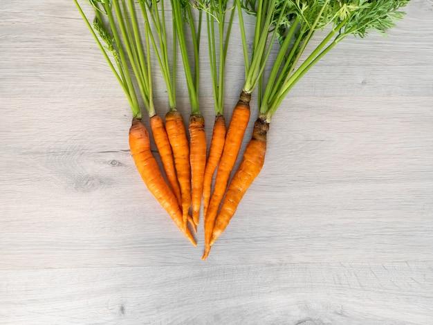 Свежая морковь только с грядки