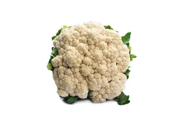 Fresh cauliflower isolated