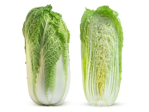 テーブルの上の新鮮な白菜