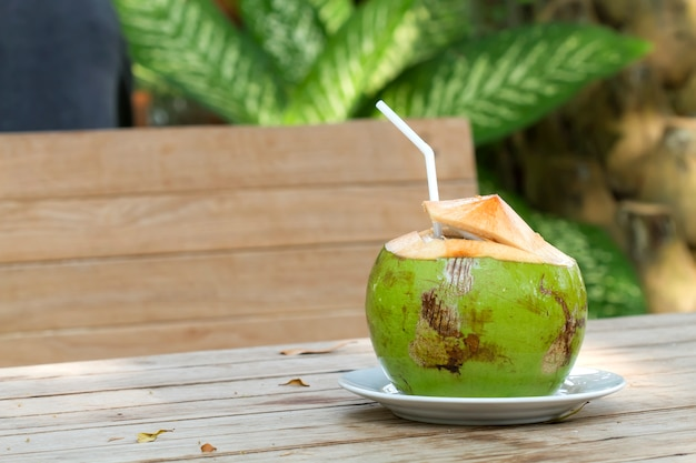 Fresh coconut fruit helps to quench the thirst and refresh