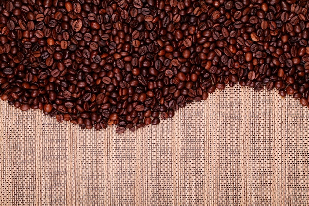 Fresh coffee beans ready to brew delicious coffee
