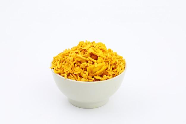 Fresh and crunchy navratan mixure namkeen
