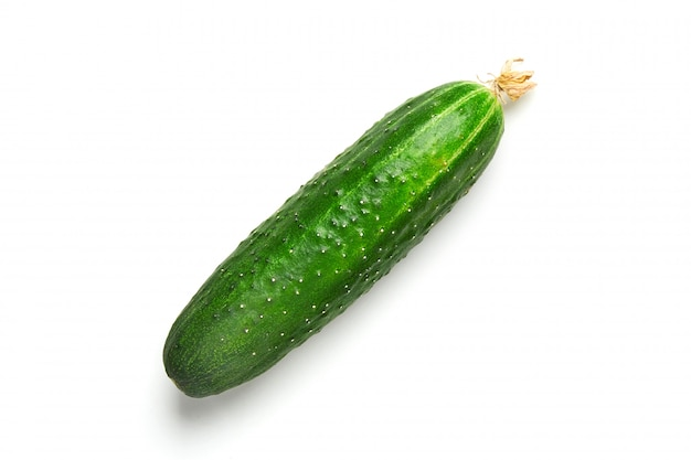 Fresh cucumber isolated