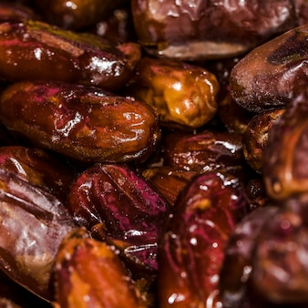 Fresh dried rose hip fruits for sale on market