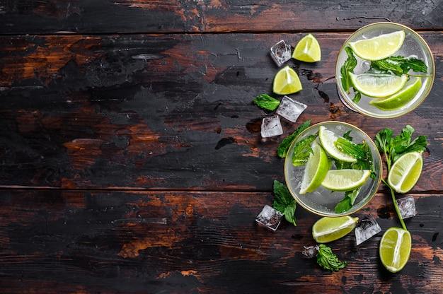 Свежий напиток лимонад мохито