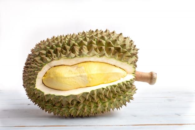 Fresh durian fruit