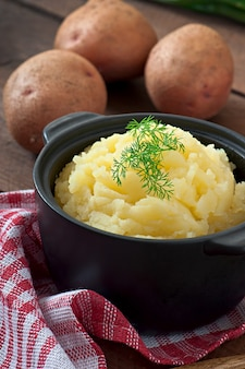 Fresh and flavorful mashed potatoes