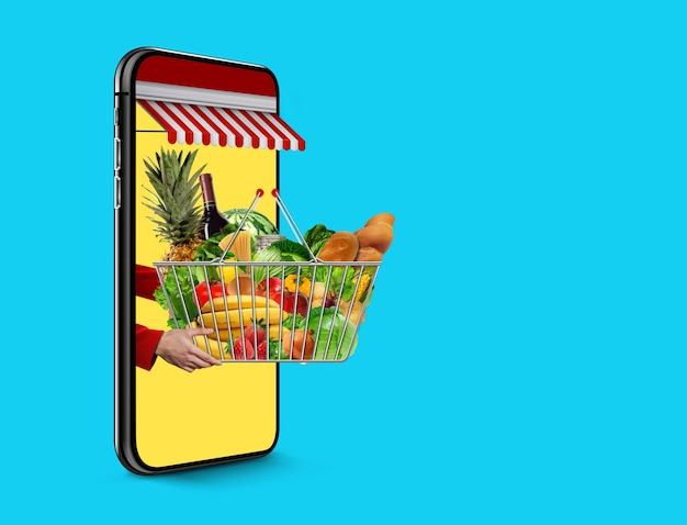 Fresh food delivery concept