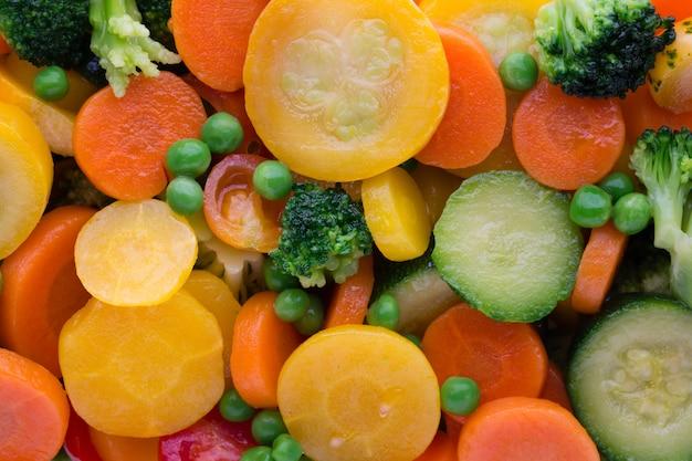 生鮮冷凍野菜エコフード、ナチュラル。