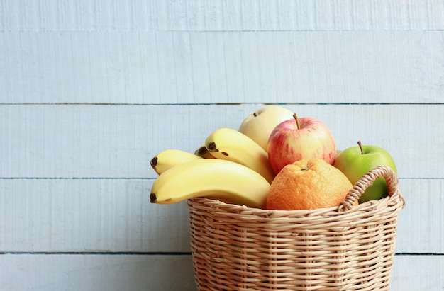 Fresh fruit for healthy eating in daily life