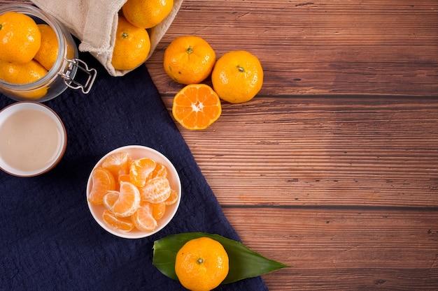Fresh fruit mandarin