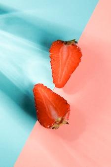 신선한 과일 딸기