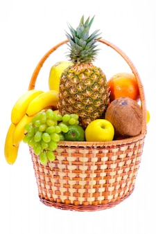 Fresh fruits. healthy food concept