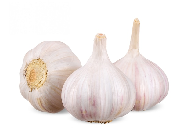 Fresh garlics