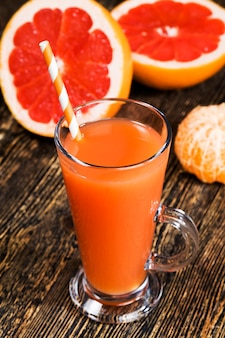 フレッシュグレープフルーツジュース