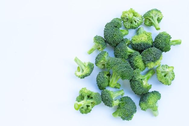 신선한 녹색 브로콜리