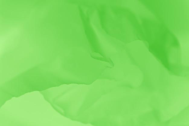 신선한 녹색 직물