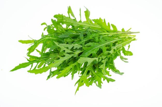 신선한 녹색 농장 arugula는 요리에 사용할 수 있습니다.