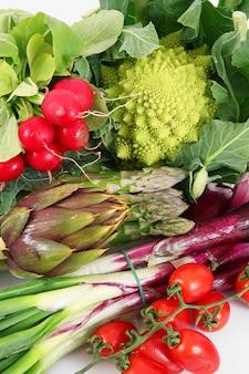 Fresh group of vegetables