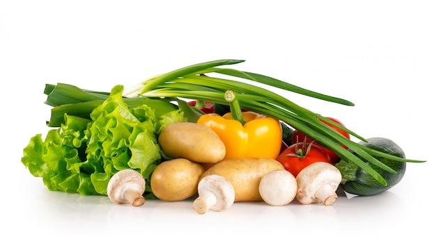 Fresh healthy raw vegetables