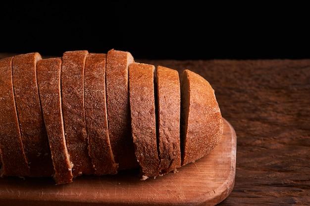 Fresh homemade bread. crisp.