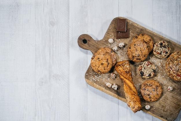 Fresh homemade sweet pastry