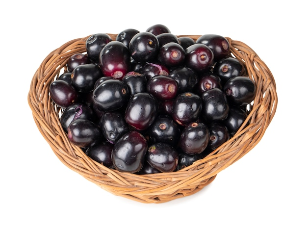 Fresh jamun fruits