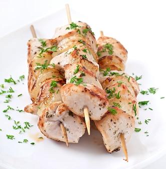 신선한 케밥