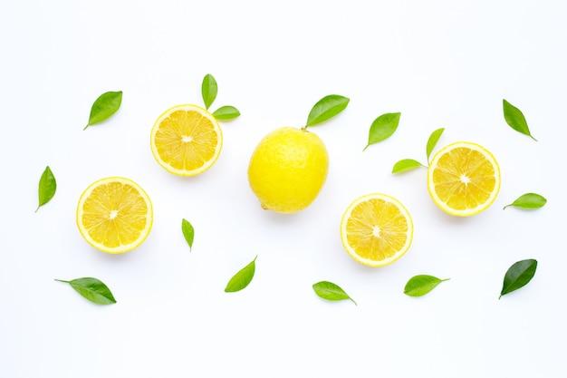 Fresh lemon.
