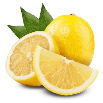 Fresh lemons isolated