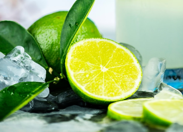 Fresh lime for mojito recipe