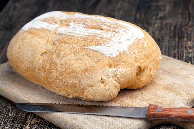 小麦粉パンの新鮮なパン、新鮮な小麦食品