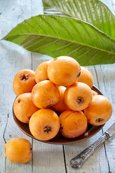 Fresh loquats
