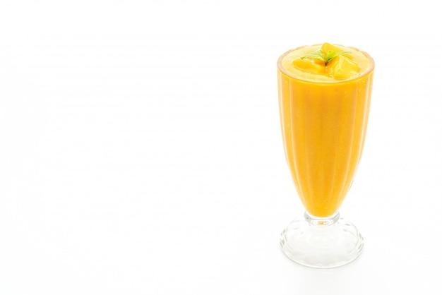 Fresh mango smoothies