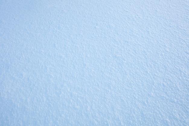 新鮮な自然の表面の雪の質感