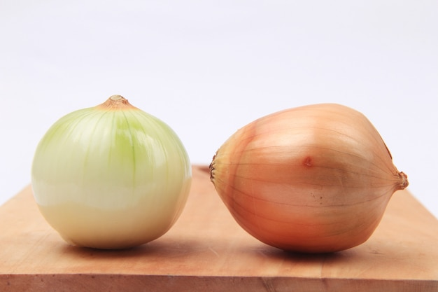 Fresh onion ready to cook vegetables