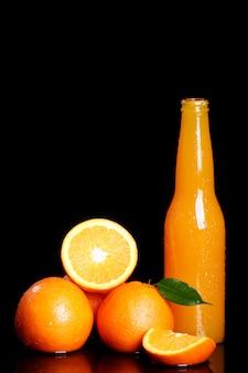 Fresh orange drink
