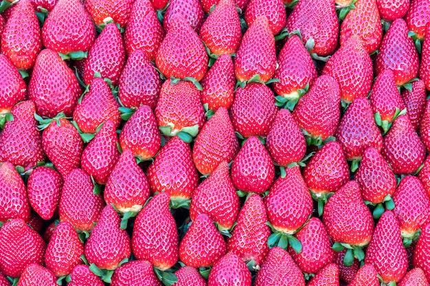 Свежие органические клубника фрукты справочная информация