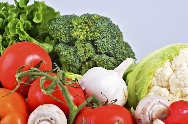 Fresh organic veges