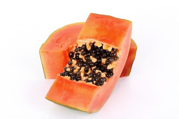 Frutto di papaya fresca